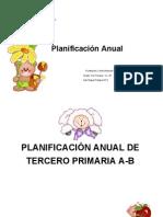 Planificacion 3ro Primaria a y B