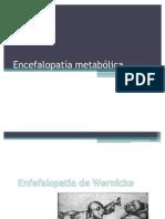 Encefalopatía wernicke y hepatica