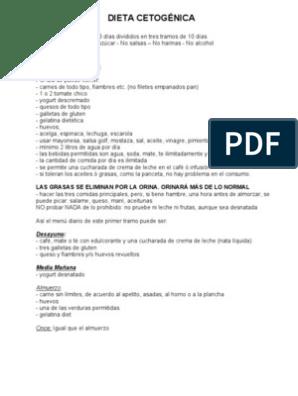 la dieta cetogenica pdf