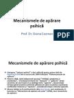 Doina Cozman - Mecanismele de Aparare Psihica