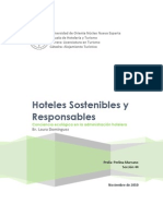 Hoteles Sostenibles y Resp on Sables