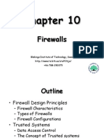 Firewalls and Trusted Systems