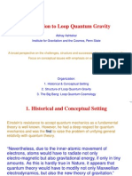 Abhay Ashtekar- Introduction to Loop Quantum Gravity