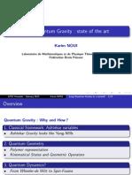 Karim Noui- Loop Quantum Gravity
