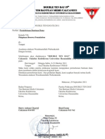 Surat Bantuan Dana