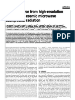 P. de Bernardis et al- A flat Universe from high-resolution maps of the cosmic microwave background radiation