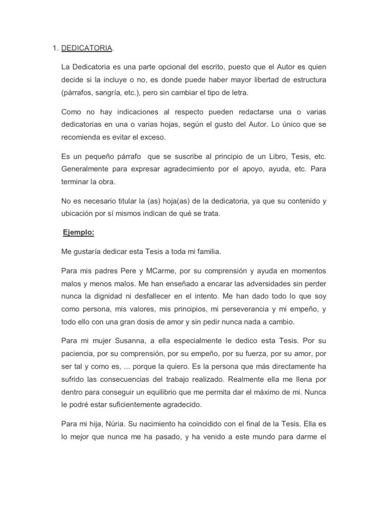 Top 10 Punto Medio Noticias Ejemplos Dedicatorias Para Tesis A Mis
