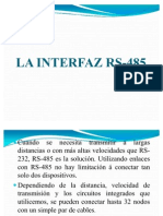 interfaz 485