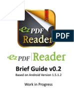 EzPDF Reader (Android) Brief Guide
