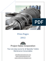 Price Pages 2012 - Project Sales Corp