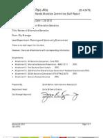 City of Palo Alto (CMR # 2479) Housing Needs Mandate Committee Staff Report (2011)
