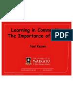 community learning values