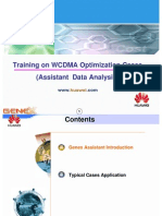 06 Training on WCDMA Optimization Cases(Assistant Data Analysis)