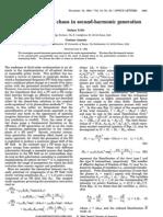 OL 19-22-1825 Polarization Spatial Chaos in SHG