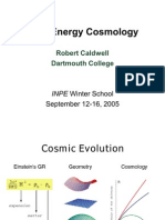 Robert Caldwell- Dark Energy Cosmology