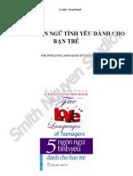 5 Ngon Ngu Tinh Yeu Danh Cho Ban Tre - Smith.N Studio