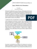 EPISTEMOLOGIA Y DIDACTICA DE LA MATEMÁTICA