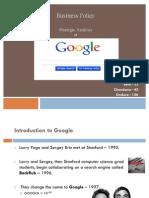 Biz Policy- Google