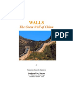 Walls  - The Great Wall of China