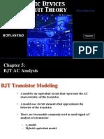 Chapter5 BJT AC Analysis