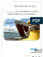 Maritime Industry in 2012
