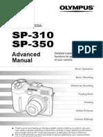 Oympus Sp310 Sp350 English