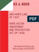 Anti-sexual harassment law ra 7877 presentation