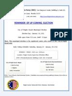 Flagler Beach Municipal Election