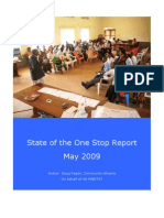 State of the One Stop Report Final