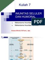 7 Imunitas Seluler Dan Humoral