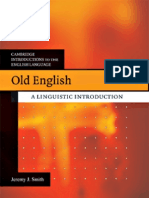 Old English Linguistic Introduction