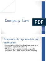 Business Law Chap 1 - Companies Act Notes