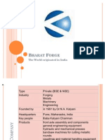 Bharat Forge Presentation