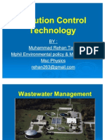 PCT Pollution control Technology ( M REHAN TAHIR) - Waste Water Treatment