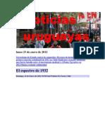 Noticias Uruguayas viernes 20 de Enero de 2012