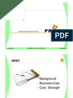 Praj Corporate Presentation