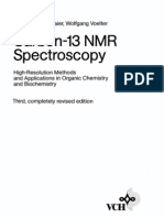 Carbon 13 NMR Spectroscopy-HC