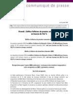 20080724 CP Chiffre Affaires Du Premier Semestre 2008