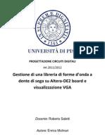 Relazione Enrico Molinari Progettazione Circuiti Digitali