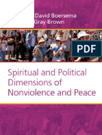 Spritual & Polictic Dimensions of Non-Violence and Peace