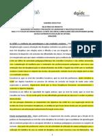 sumario do estudo sobre as áreas curriculares não disciplinares - 2006 - iscte