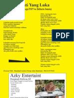 H Hati Yang Luka - Liryc Lagu POP - Betharia Sonata