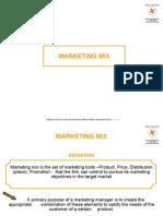 50523940 Marketing Mix