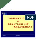 1. Relationship Management