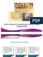 Manufacturing of Turbo Generators in Bhel Ppt