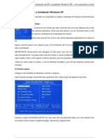 Format an Do Um Pc e Instal an Do Windows XP