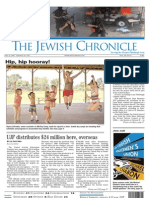jewish chronicle - front page