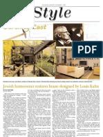 jewish chronicle layout - architecture