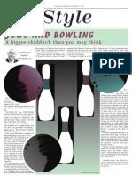 jewish chronicle layout - bowling