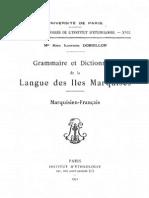 Grammaire et dictionnaire de la langue des Îles Marquises  de Mgr René Ildefonse Dordillon (1808-1888) N0415071_PDF_1_-1